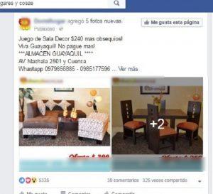anuncio muebles