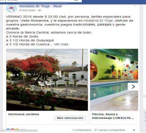 publicidad hotel